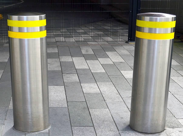 Stainless Steel Bollards Stainless Steel Security Posts