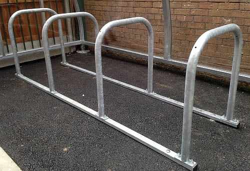 Sheffield Cycle stand mild steel toast rack